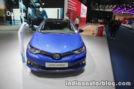 2018 toyota auris hybrid at iaa 2017 indian autos blog