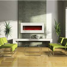 Contemporary Classic Theme Electric Fireplace Insert Heater Modern Affordable Furniture Stone