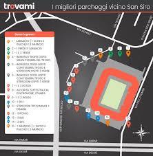 stadio san siro ingresso 8 dove parcheggiare vicino allo stadio di san siro trovami