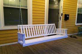 how to upgrade your porch swing the broadcasting baker