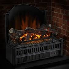 pleasant hearth electric insert with heater electric log