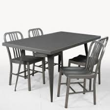 Tolix Dining Chairs China New Designer Metal Tolix Table And Chair Outdoor Dining Set