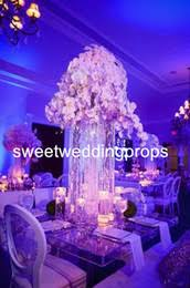 Tall Metal Vases For Wedding Centerpieces by Discount Tall Vases Wedding Centerpieces 2017 Wholesale Tall