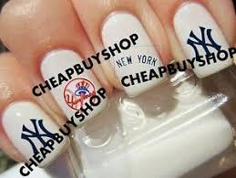 flash sale mlb new york yankees ny baseball logos tattoo nail