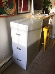 contact paper file cabinet chic file cabinet diy restyle liz morrow design