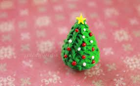 diy christmas tree polymer clay tutorial youtube