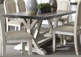 Rustic Dining Room Furniture Sets - dining table grey modern dining room table gray chairs furniture