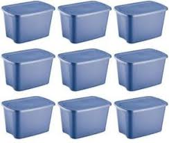 plastic totes storage containers ebay