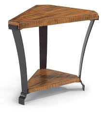 kenwood dealer flexsteel kenwood wedge shaped occasional table ahfa end table
