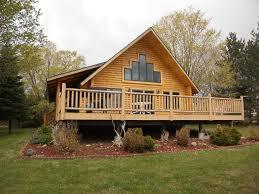 log home on the lake charlevoix northwest michigan michigan
