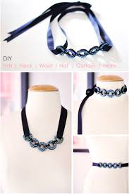 choker necklace diy images Top 10 stunning diy choker nekclaces and craft best of necklace 19 jpg