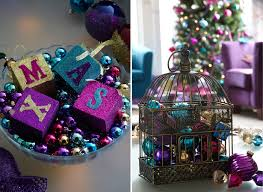 Pink Purple Blue Christmas Decorations by 5 Top Christmas Decorating Trends