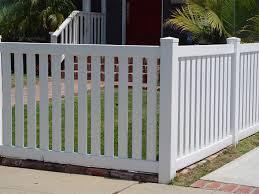 wood picket fences kavin fence company inc