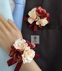 wedding flowers groom aliexpress buy handmade artificial flowers wedding flower
