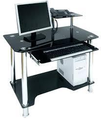 glass computer corner desk home office desk black u2013 netztor me