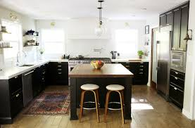 ikea navy blue kitchen cabinets it s done the kitchen reveal chris