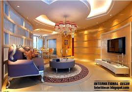 Living Room Pop Ceiling Designs Pop Ceiling Design And Modern Living Rooms On Pictures Border For