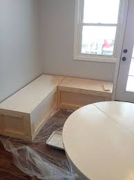 Window Seat Storage Bench Diy by Best 25 Corner Bench Ideas On Pinterest Corner Dining Nook