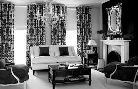 New Modern Black And White by Black And White And Gold Living Room Interior Design