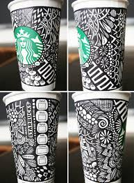 Cup Design by Artful Cup Design Contests White Cups Starbucks And Cups