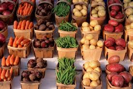 Fall Root Vegetables - fall brings cooler temperatures ideal for growing leafy and root