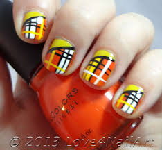 nail art designs yellow and orange white tips with yellow and