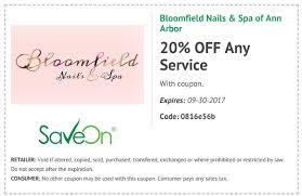 bloomfield nails u0026 spa