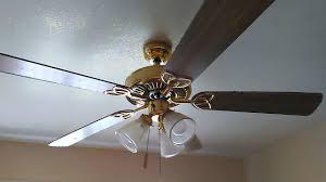 3 head ceiling fan vintage ceiling fan 52 polished brass encon 2 of youtube