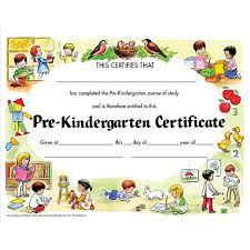 kindergarten certificates publishing va199cl pre kindergarten certificate schoolsin