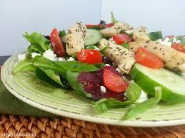 chicken souvlaki salad emily bites