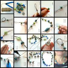 making necklace with beads images How to make simple knotted bead necklaces jpg