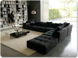 Black Microfiber Sectional Sofa Furnitures Black Sectional Sofa Luxury Black Sectional Sofa In A