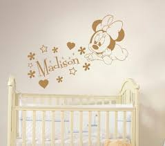 Cheap Nursery Wall Decals by Online Get Cheap Baby Minnie Mouse Nursery Aliexpress Com