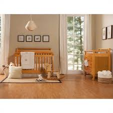 4 In 1 Crib With Changing Table Oak Crib And Changing Table Set Baby Crib Design Inspiration