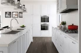 White Cabinets In Kitchen 20 Gorgeous Examples Of Wood Laminate Flooring For Your Kitchen