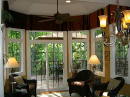 alluring modern dining room window treatments home ideas