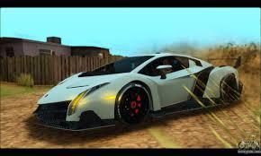 Lamborghini Veneno Blue - lamborghini veneno 2013 hq for gta san andreas