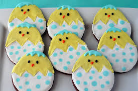 Easter Icing Decorations by Decorated Easter Chocolate Cookies U2013 A Hip A Hop A Hippidity Hop