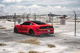 Mustang Boss 302 Black And Red Ford Mustang S550 With Velgen Wheels Vmb6 Satin Black Velgen Wheels