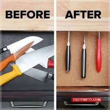 kitchen knife storage ideas diy knife organizer store your knives safely tasty nifty