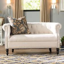 Chesterfield Tufted Sofa by Tufted Sofas You U0027ll Love Wayfair