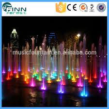 outdoor led light show water speaker buy