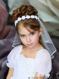 communion headpiece veil communionwreath floralcommunion veilgirl