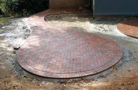 Circle Paver Patio Kits Circular Brick Pit Image Of Brick Pits Patio Pit