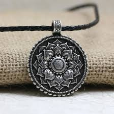 tibetan silver pendant necklace images 1pcs retro tibet spiritual necklace vintage jewelries store jpg