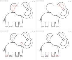 animals drawing step by step how to draw animal easy steps for