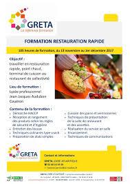 formation cuisine nantes formation en cuisine de collectivit lyce lon blum draguignan