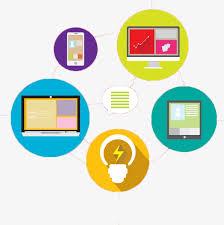 bureau num駻ique icône de bureau numérique la technologie moderne chiffre d
