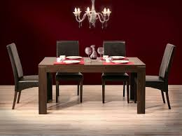 Red Dining Table by Cool Dining Room With Contemporary Dining Chairs Designoursign