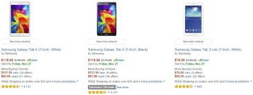 what is amazon black friday sale amazon black friday sale for samsung tablets is live prices